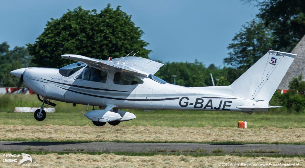 G-BAJE Cessna 177 Cardinal Airshow Legend