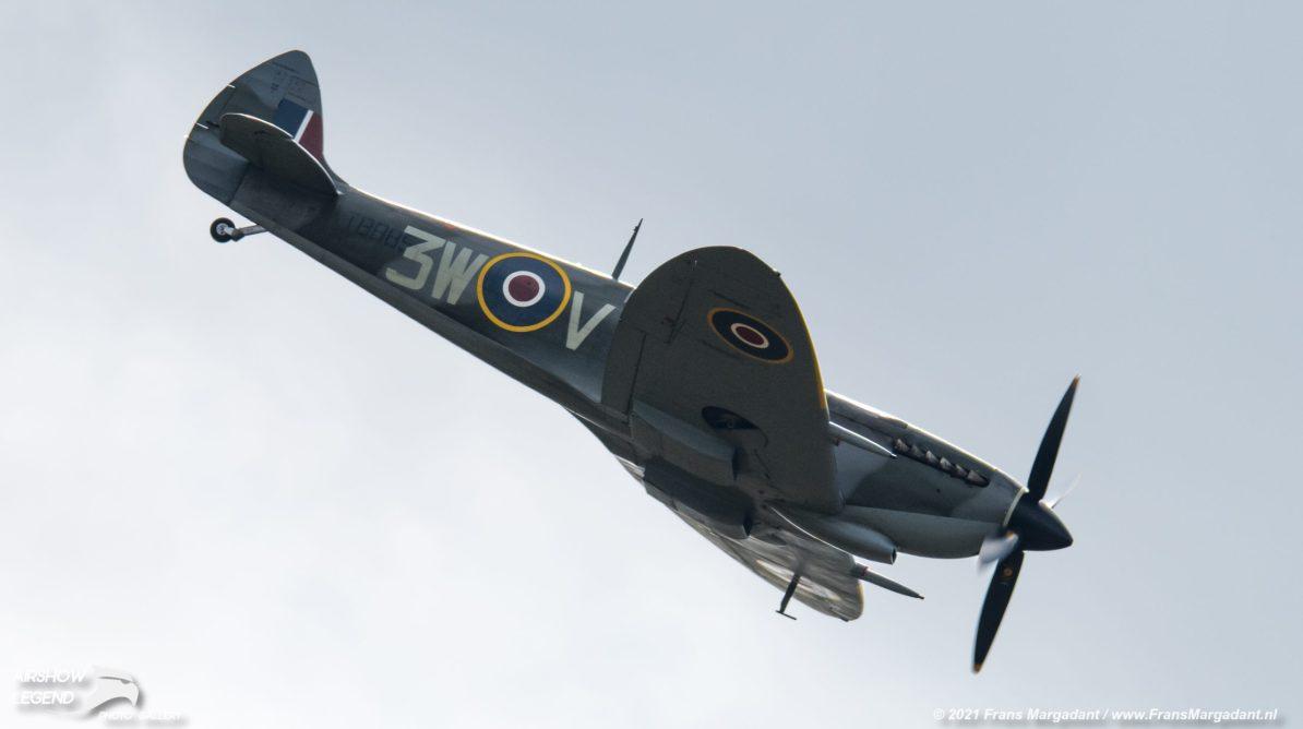 RNLAF Supermarine Spitfire LF Mk. XVIe TB885 PH-FVE 3W-V Airshow Legend
