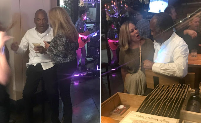OJ Simpson Spotted At Vegas Wine Bar Having Chats With Ladies and Taking Selfies with Fans