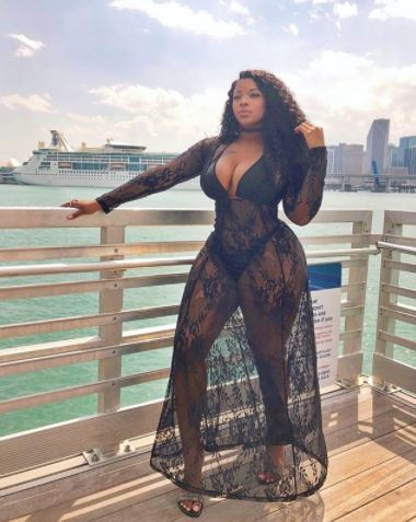 Meet Brianna Francisco the Curvy Model Who Is Driving Guys Crazy On Instagram (Photos )