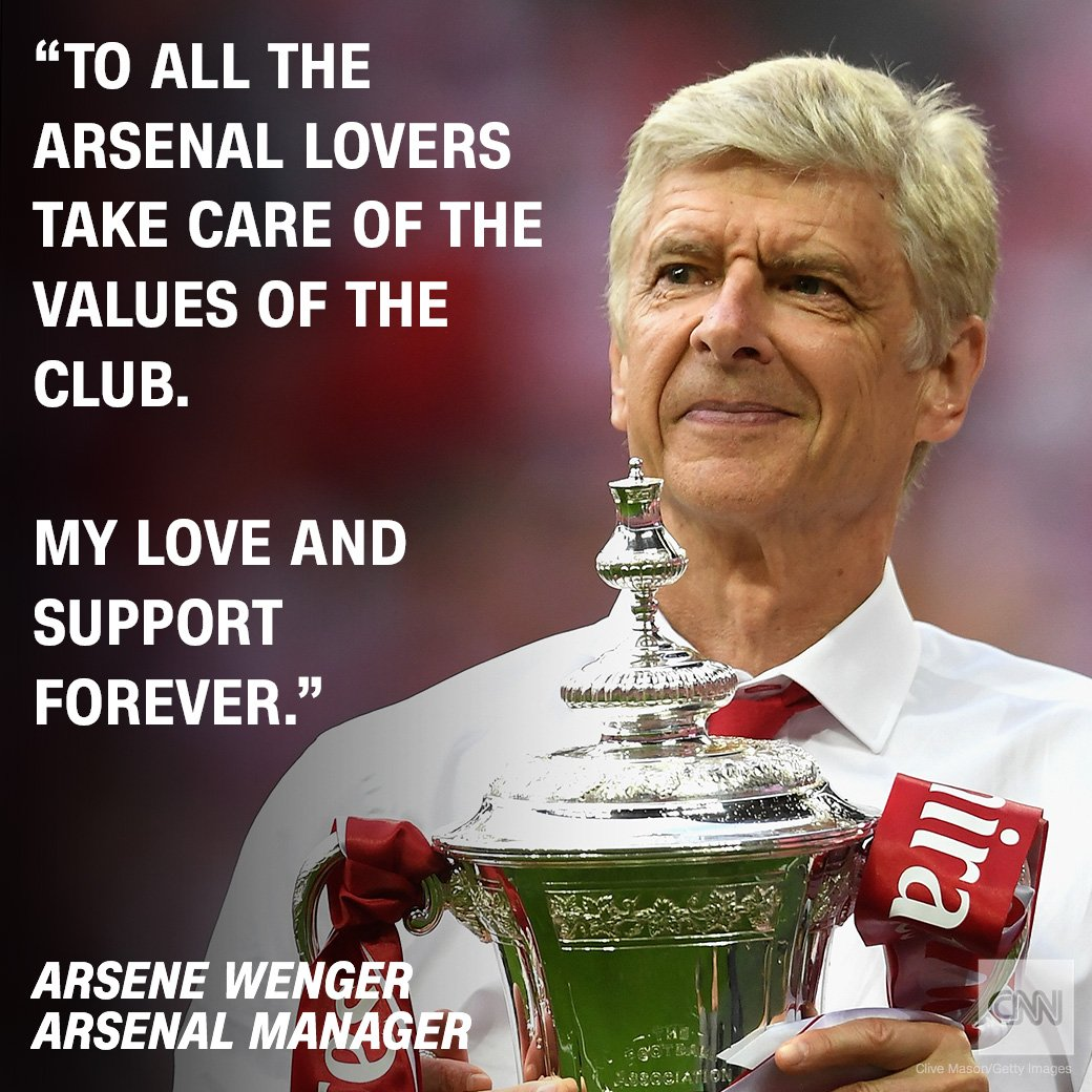 After 22 Years As Arsenal Manager, Arsene Wenger Finally Set to leave the Football Club