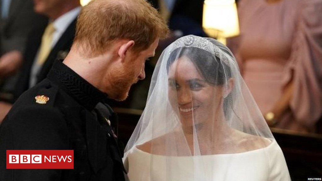 "VIDEO #RoyalWedding Duke - ""You look amazing. Duchess of Sussex - I'm so lucky."""