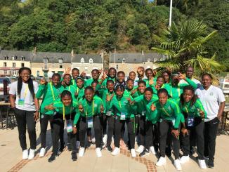 U20 Women's team 'The Falconets