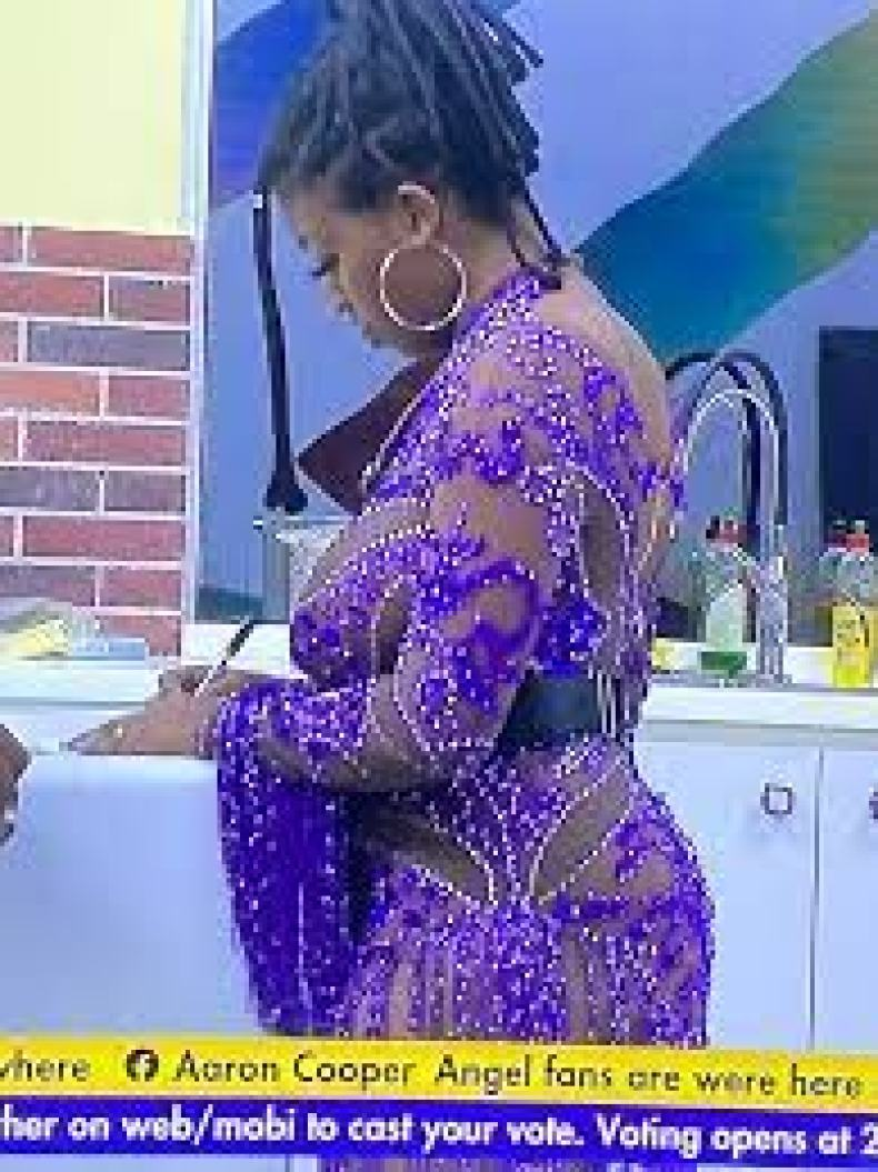 BBNaija's Angel's father hails her see-through outfit - AkPraise