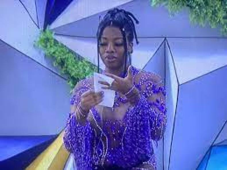 BBNaija2021: Angel's father hails her see-through outfit