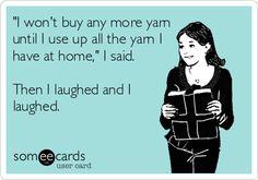 crochet laugh