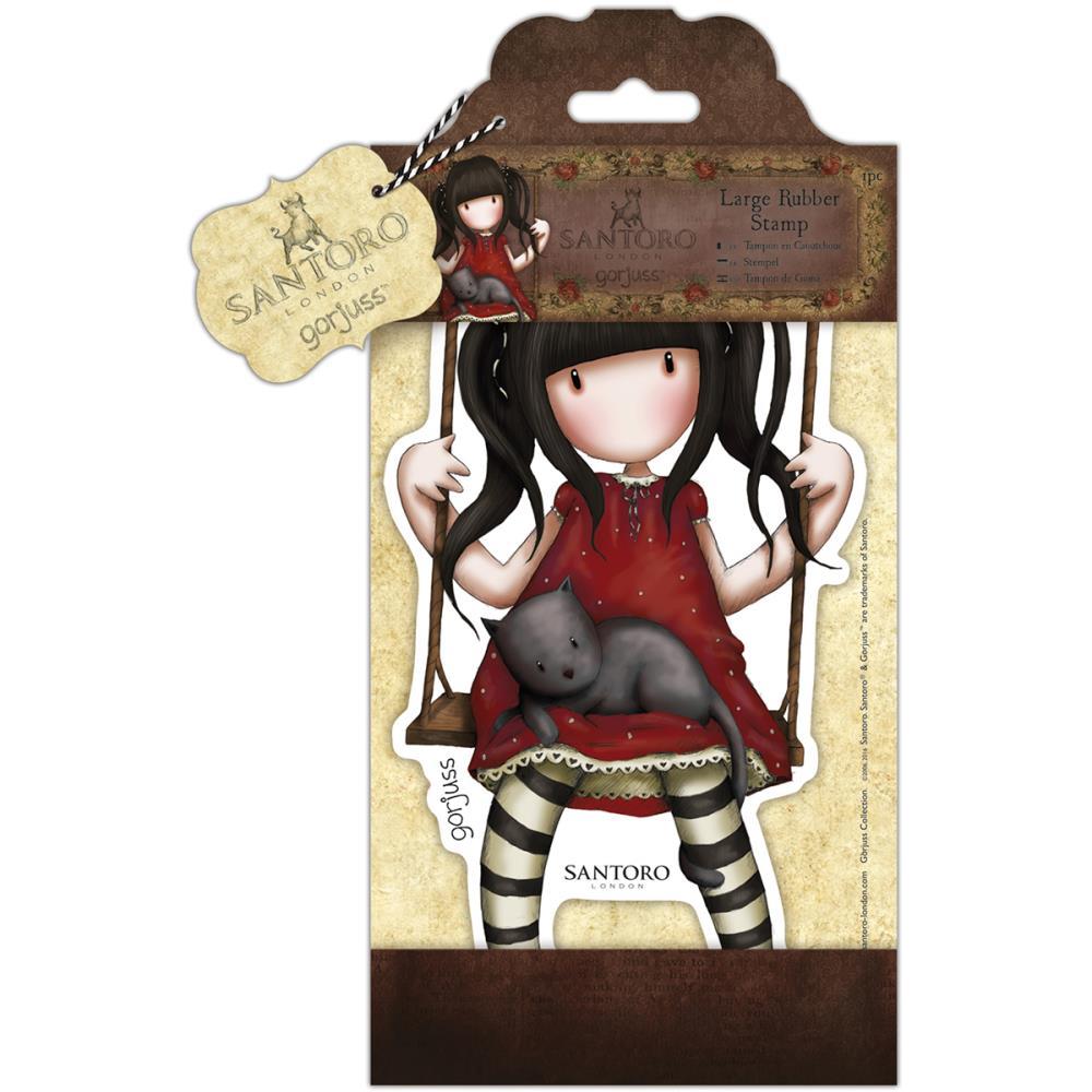 Do CraftsSantoro Gorjuss Girls Cling Mounted Rubber