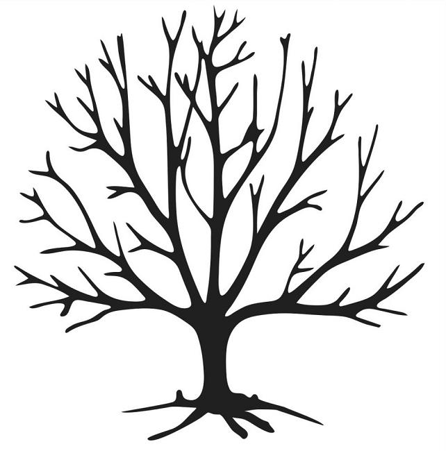 The Crafters Workshop - 4x4 Balzer Bits Template - Tree Bits (642 x 650 Pixel)