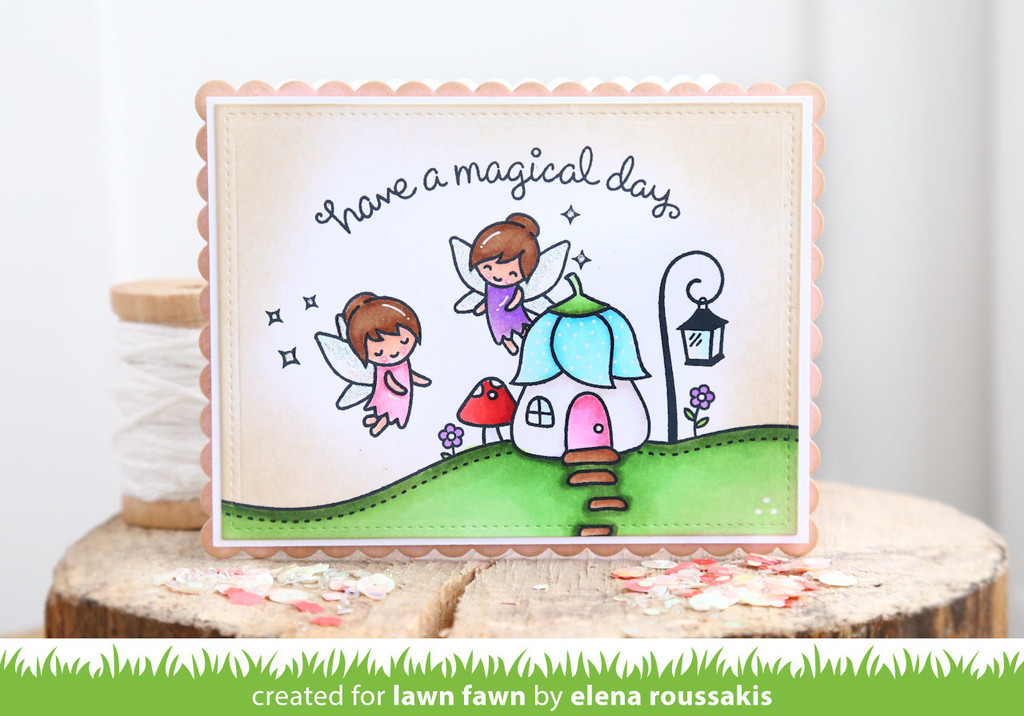 Lawn Fawn Clear Stamps Fairy Friends