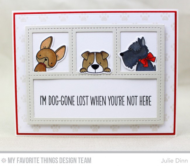 My Favorite Things Clear Stamp BB Lucky Dog