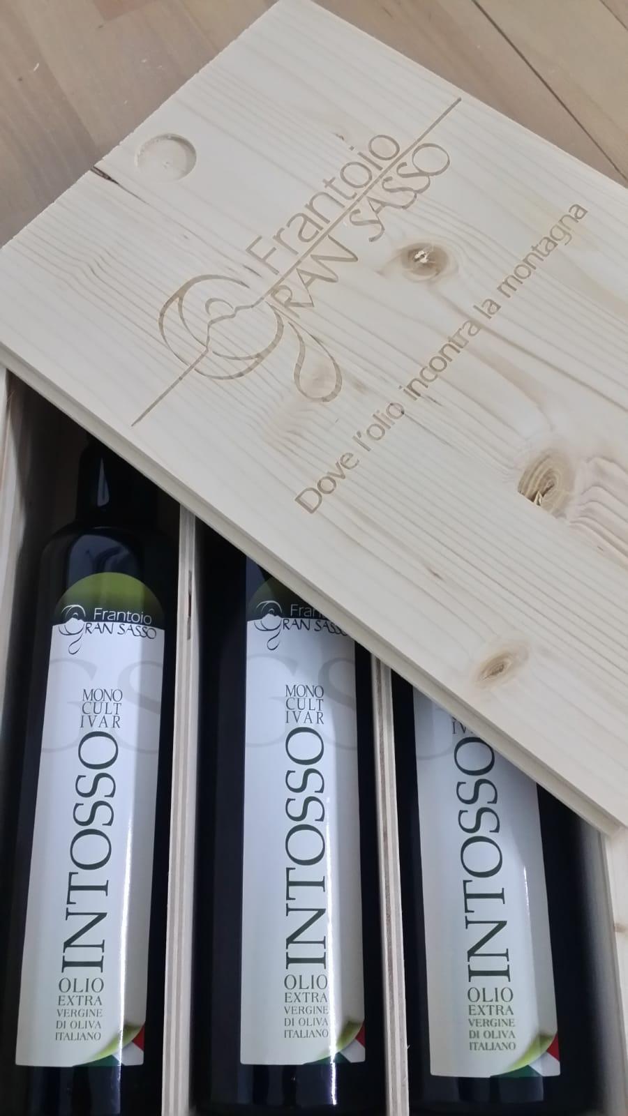 Cassetta Intosso - Olio extravergine d'oliva di qualità superiore