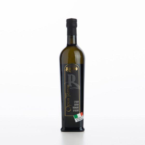 Olio Extra Vergine D'Oliva Opus Terrae in bottiglia
