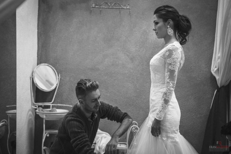 Ultima prueba vestido de novia