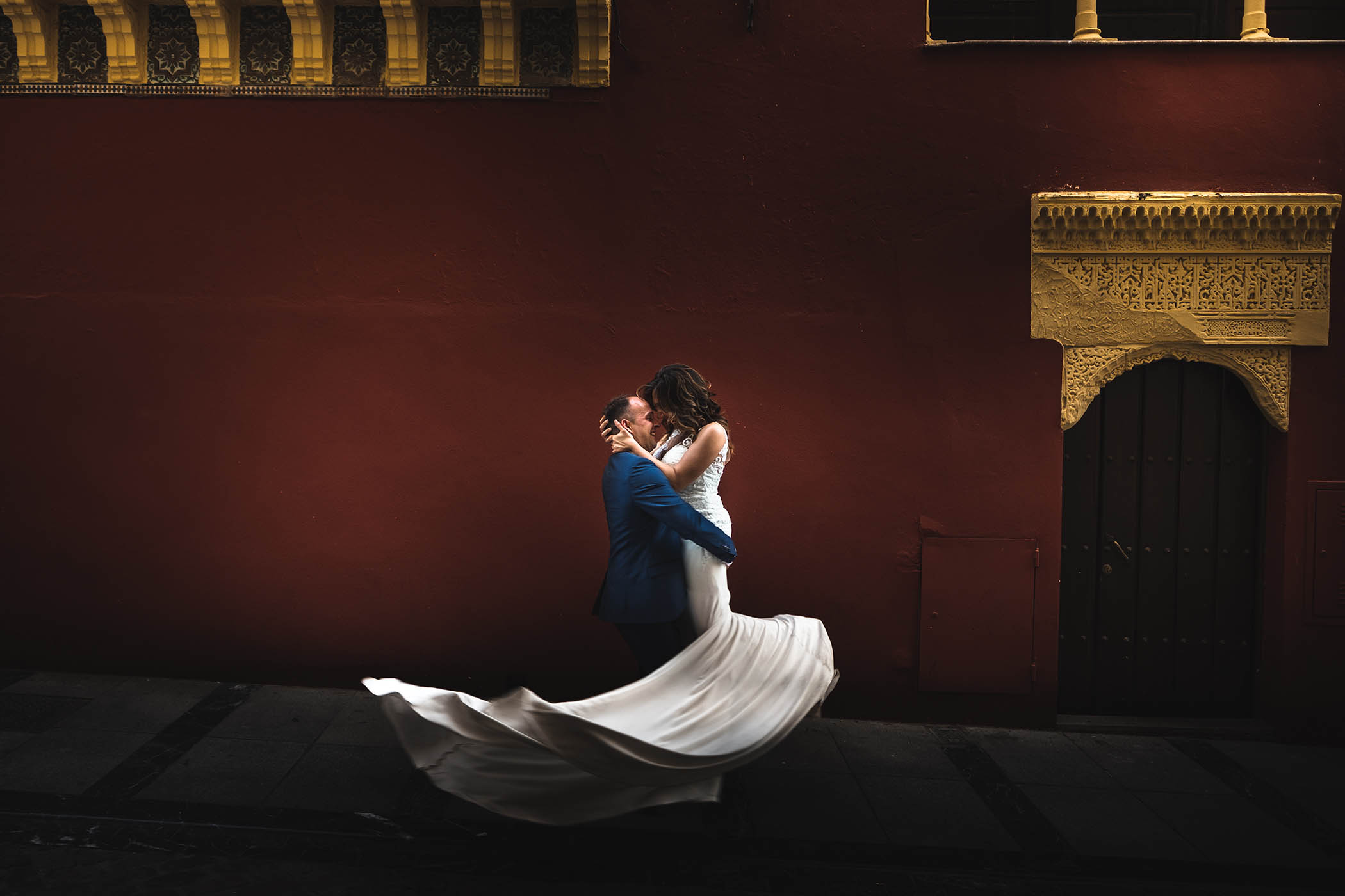 Sesión de fotos de boda ¿Campo o ciudad?