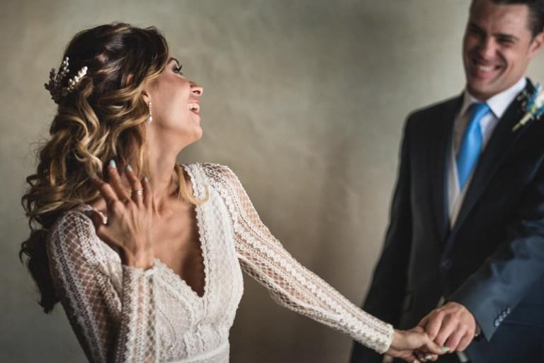 Reportaje de boda en Castillo de la Albaida
