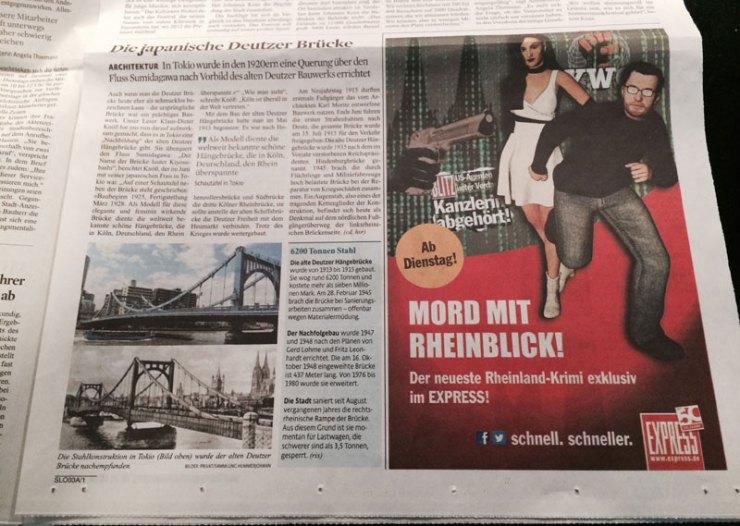 Anzeige im Kölner Stadt-Anzeiger