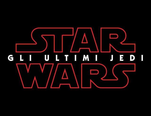 Star Wars The Last Jedi in Italian