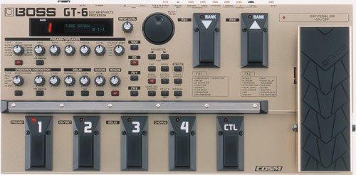 Boss GT-6. A digital pedalboard.