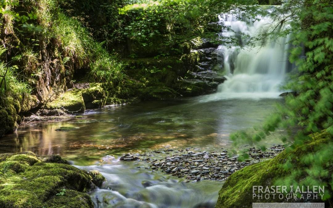 waterfalls of North Devon