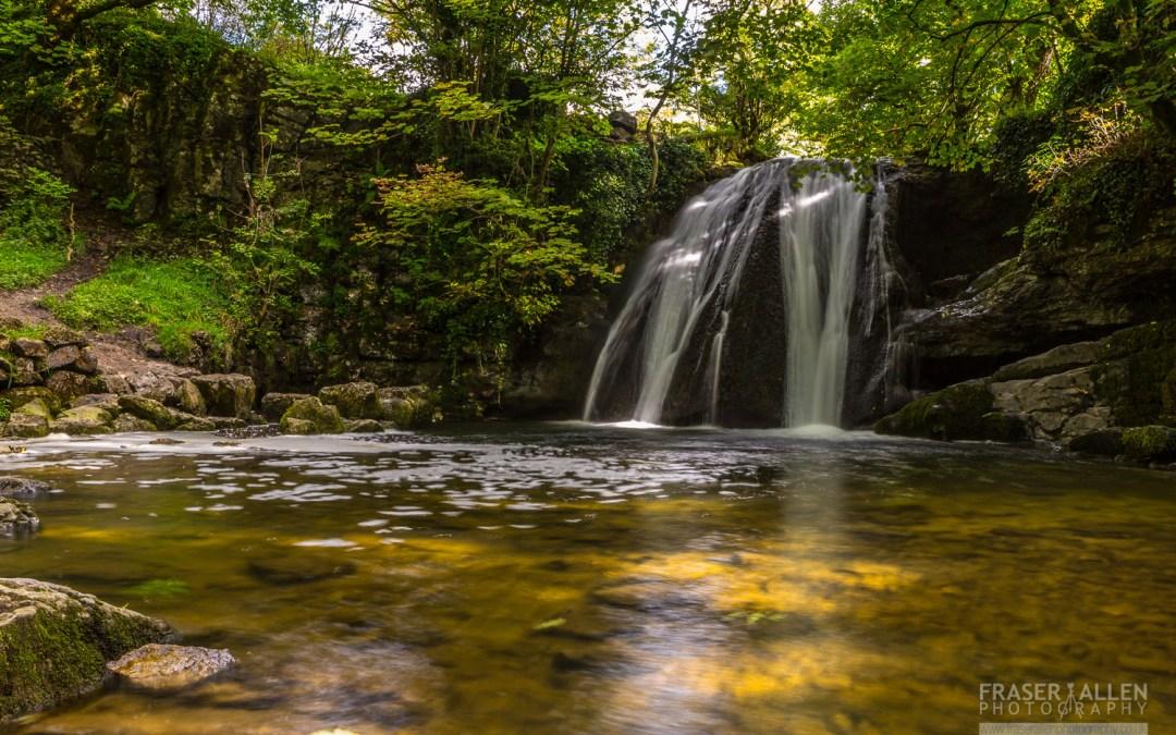 Malham Cove, a very wet dry waterfall