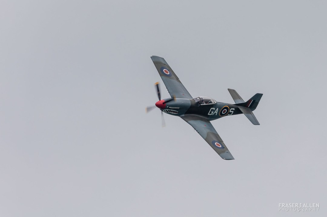 Eastbourne Airshow 2018 - P-51D Mustang