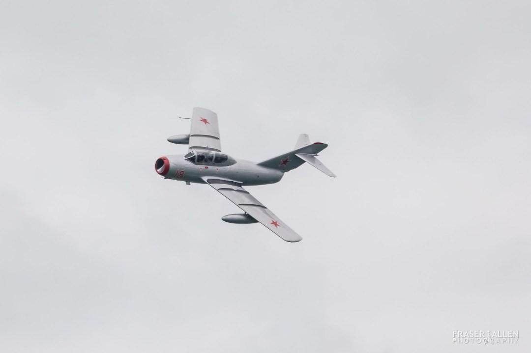 Eastbourne Airshow 2018 - MiG-15UTI