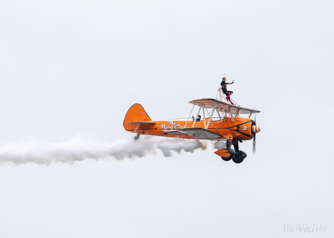 Eastbourne Airshow 2018 - AeroSuperBatics Wing Walkers