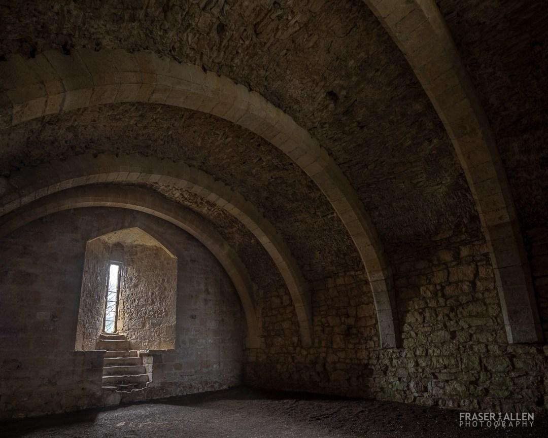 inside Helmesley Castle