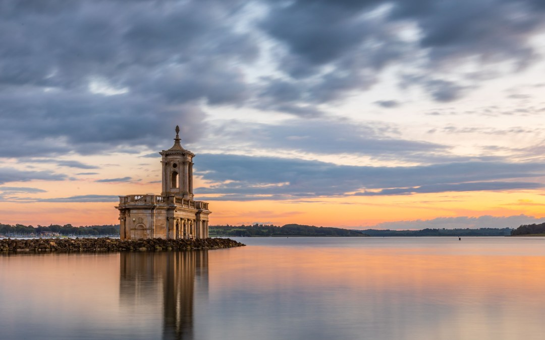 Sunset at Normanton Church