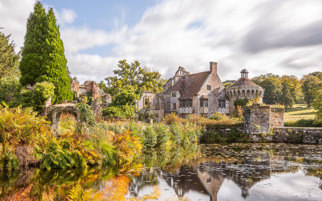 Autumn at Scotney Castle