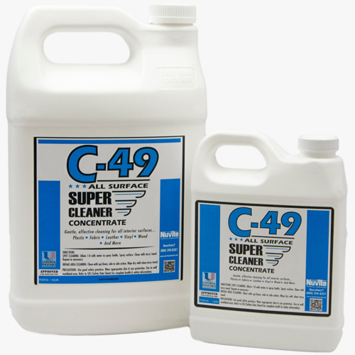 nuvite c49 supercleaner