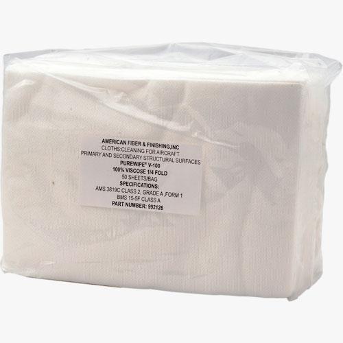 V-100 Cloth equivalent to Sontara wipes
