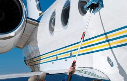 aircraft cleaning