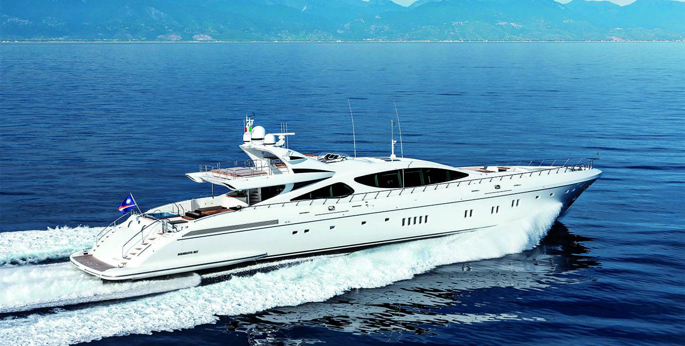 MY MISUNDERSTOOD MANGUSTA 165 Motor Yacht For Sale Fraser
