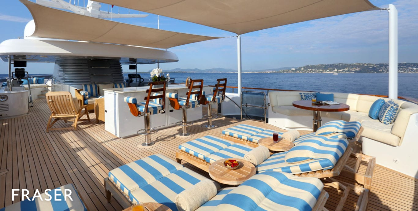 HELIOS 2 YACHT FOR CHARTER FRASER