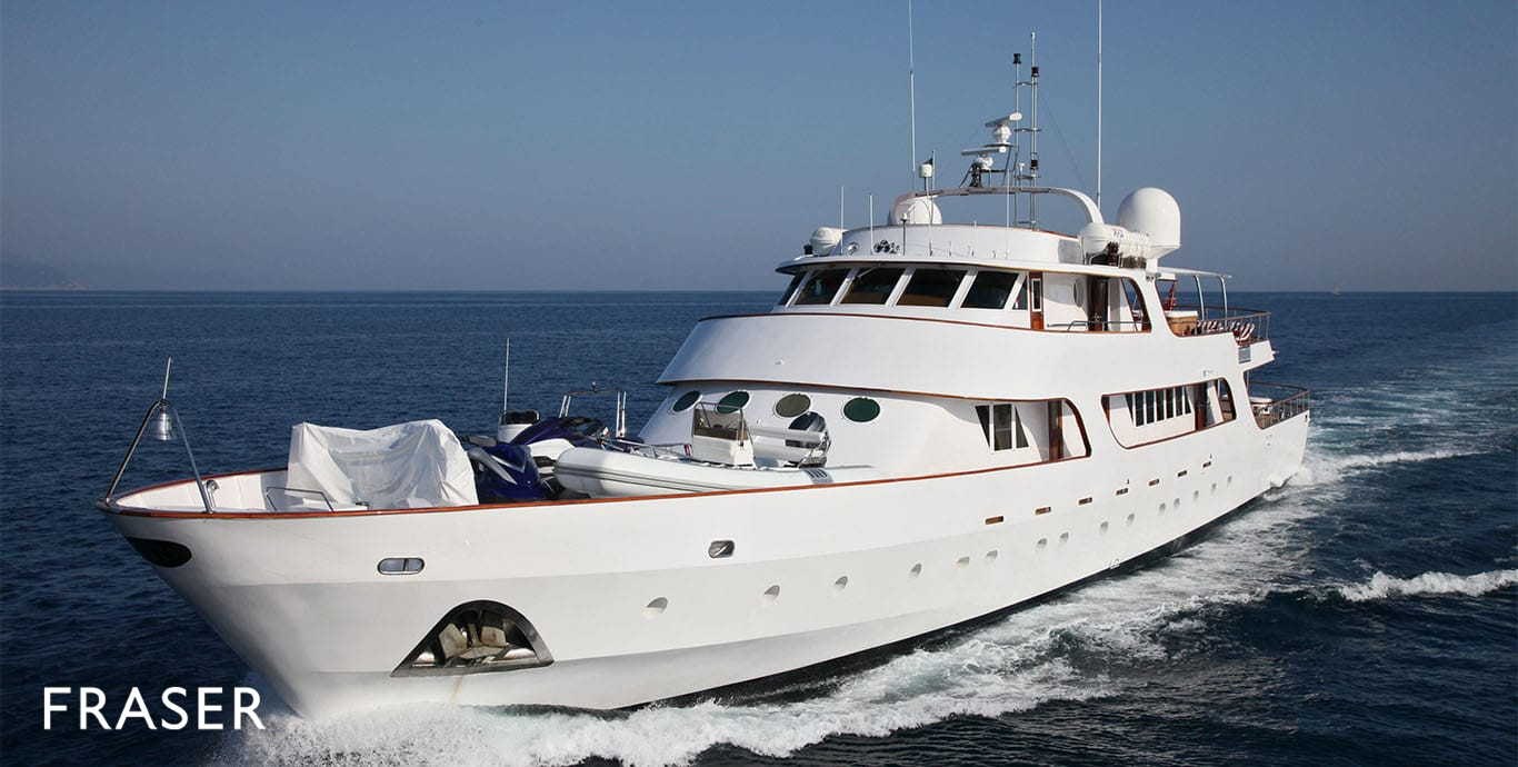 SARITA SI Yacht Fraser
