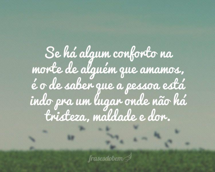Palavras Luto De Conforto De