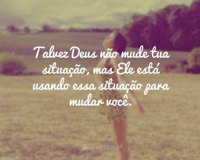 Deus está cuidando de você