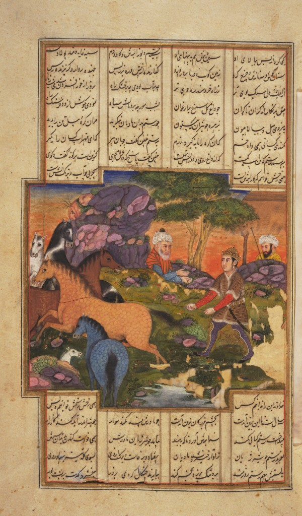 Rostam catches Raksh 4