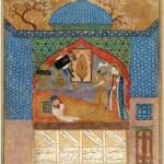 Rostam Nameh 13c: Rostam and Tahmina
