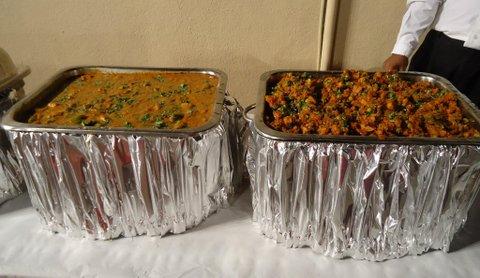 For the vegetarians - Paneer-e-Bahaar and Lagansara Stew