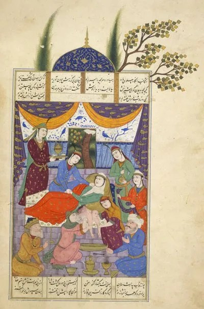 The Wondrous Birth of Rostam