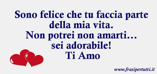 Frasi D Amore Sei La Mia Vita.Ti Amo Frase Ed Immagine Ti Amo