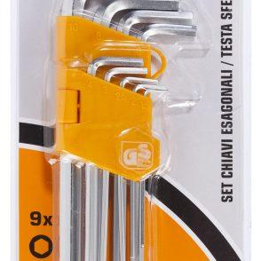 Set 9 chiavi esagonali – Confezione da 12 pz € 7,90 CAD