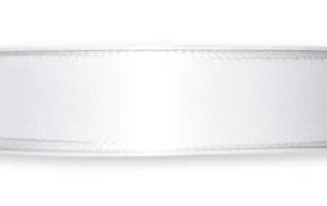 Nastro taffeta Bianco 40mm