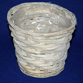 Cestino bambù grigio