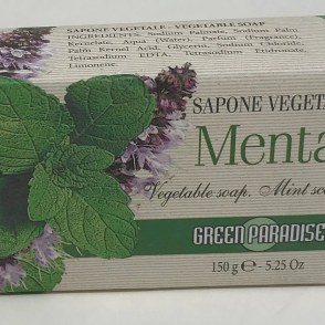 Sapone vegetale menta