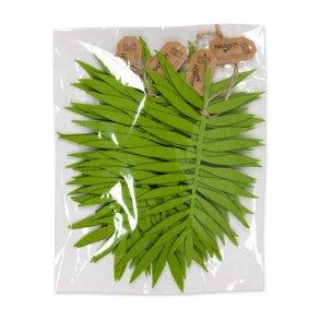 Foglie feltro a pacchi da 2 pz verde