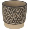 Vaso ceramica 14x14x13 cm - mix color