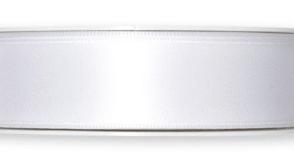 Nastro doppio sateen Bianco 25mm